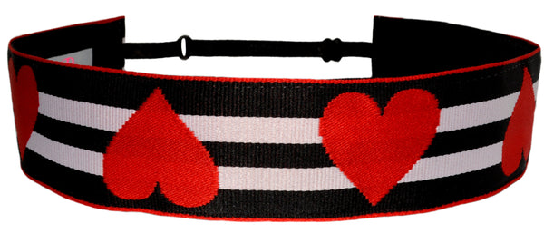 Valentines Hearts & Stripes