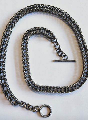 Etruscan Foxtail - Necklace by Richard Hassall