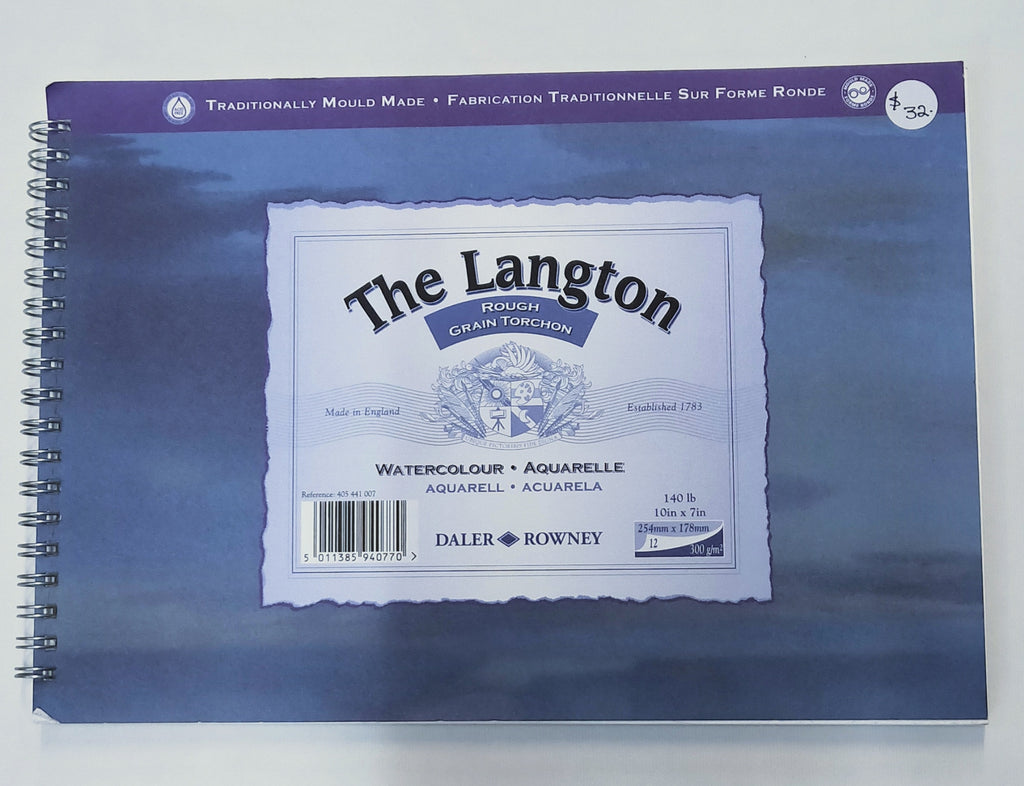 Langton traditional 300 gsm watercolour paper