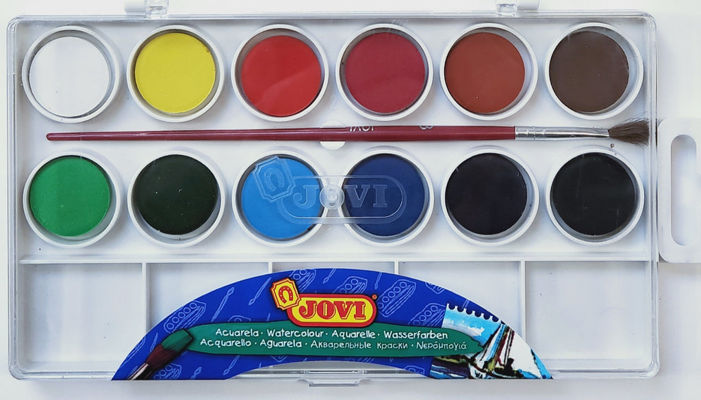 Jovi Watercolour Set of 12
