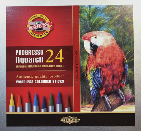 Koh i noor woodless watersoluable pencils