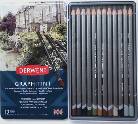 Derwent Graphitint Coloured Graphite
