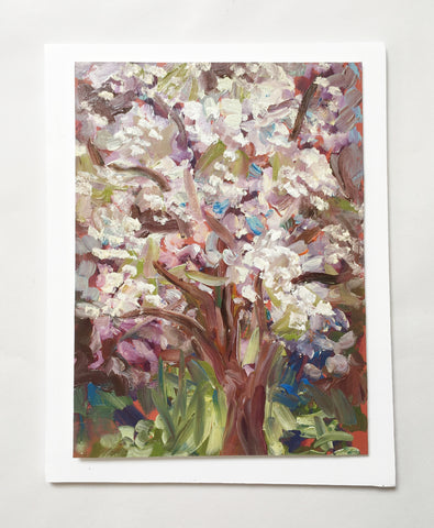 Pear Blossom- Painting by Jan Eagle
