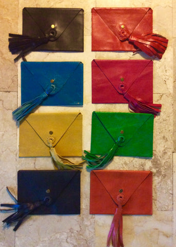 Little funky leather purses