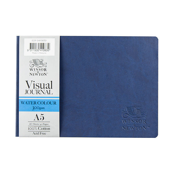 Watercolour Visual hard cover journal A5