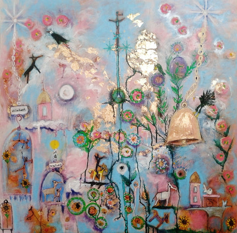 Bell Time - a painting by Janie Nott