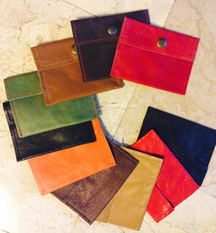 Coin leather purses