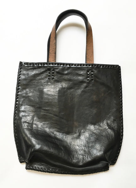 Leather and hair on hide handcrafted  handbag