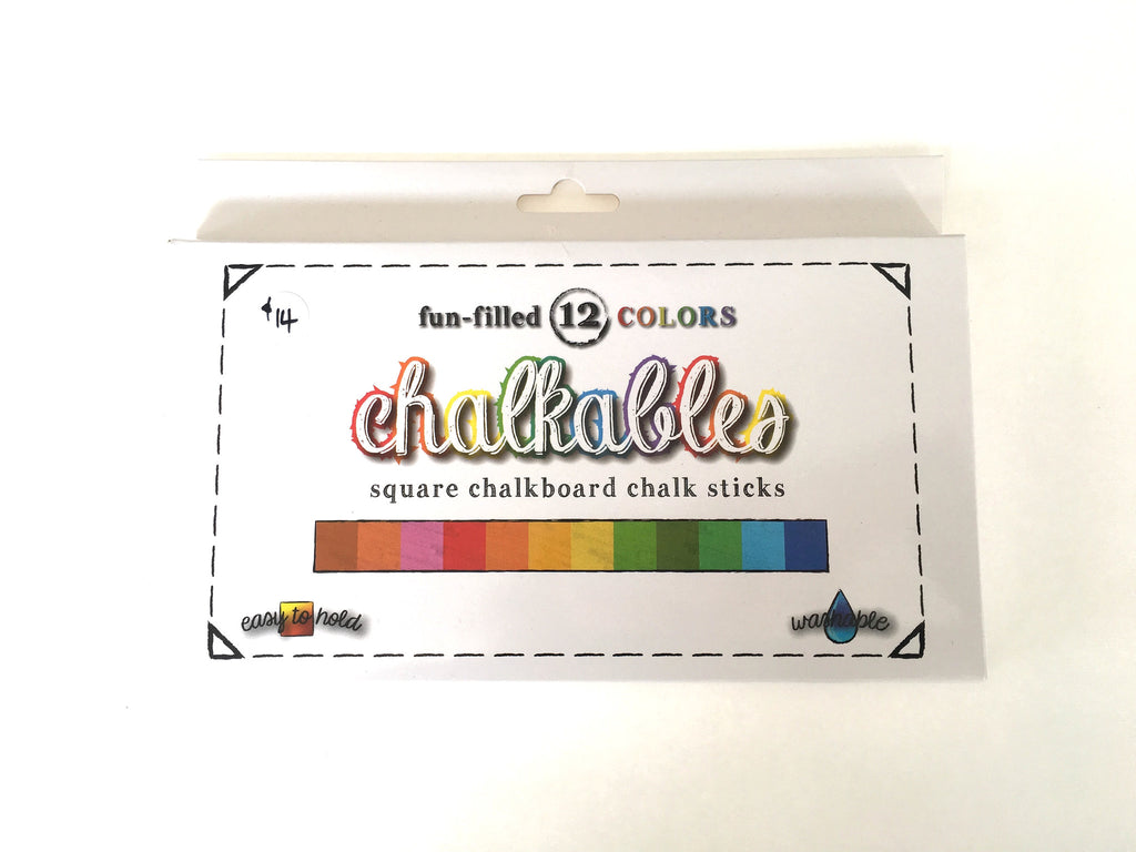 Chalkables- chalk sticks