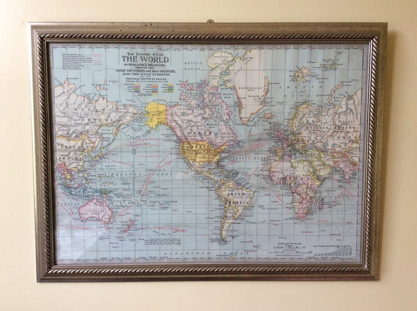 Large Framed maps