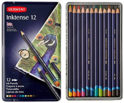 Derwent Inktense Pencils