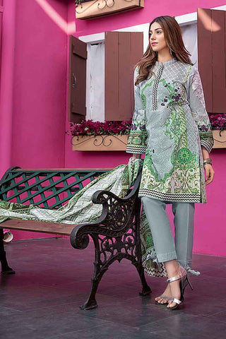 GUL AHMED LAWN STITCHED 3 PIECE 2019 CL#374A