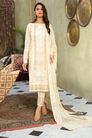 Gul Ahmed Lawn 2020 Stitched 3 Piece PM#352