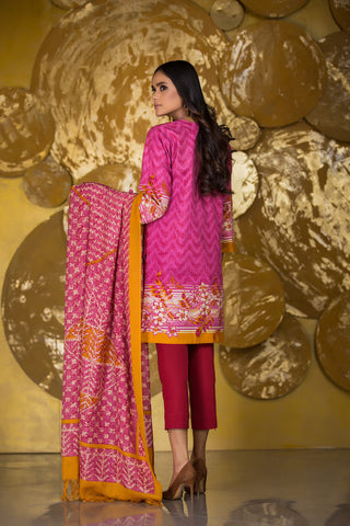 Al Karam Stitched Winter 3 Piece GFSU1905