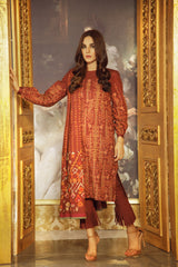 Al Karam Stitched Winter 3 Piece GFSU1925