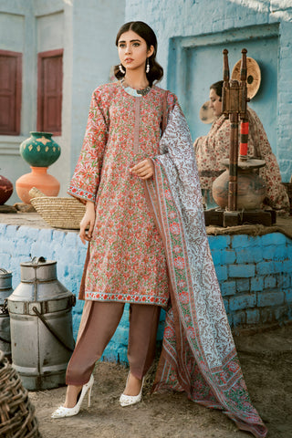 Gul Ahmed Lawn 2020 Stitched 3 Piece CL#805A