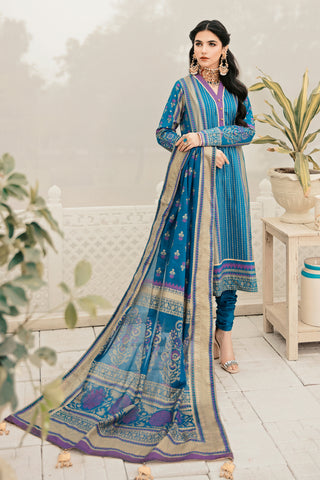 Gul Ahmed Lawn 2020 Stitched 3 Piece CL#758B