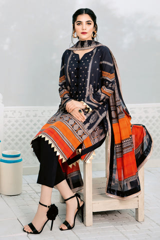 Gul Ahmed Lawn 2020 Stitched 3 Piece CL#733