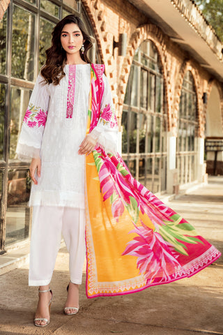 Gul Ahmed Lawn 2020 Stitched 3 Piece CL#912