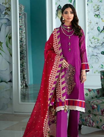 Gul Ahmed Lawn 2020 Stitched 3 Piece LE#21