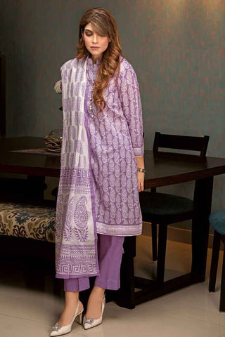 GUL AHMED LAWN STITCHED 3 PIECE 2019 CL#475B