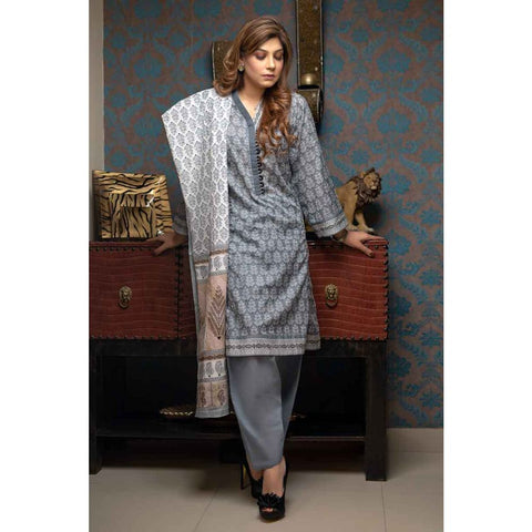 GUL AHMED LAWN STITCHED 3 PIECE 2019 CL#472A