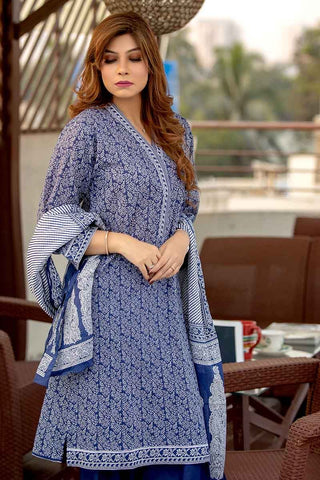 GUL AHMED LAWN STITCHED 3 PIECE 2019 CL#476B