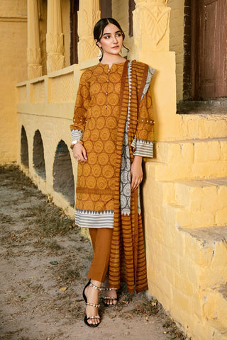 Gul Ahmed Lawn 2020 Stitched 3 Piece CL#779B