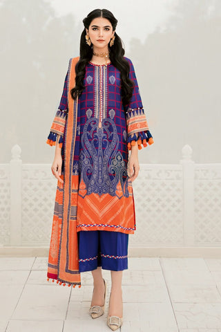 Gul Ahmed Lawn 2020 Stitched 3 Piece CL#752
