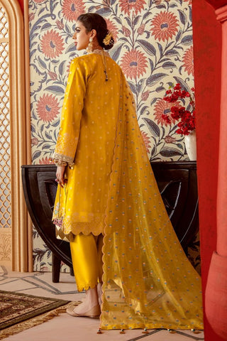Gul Ahmed Stitched 3 Piece FE#275