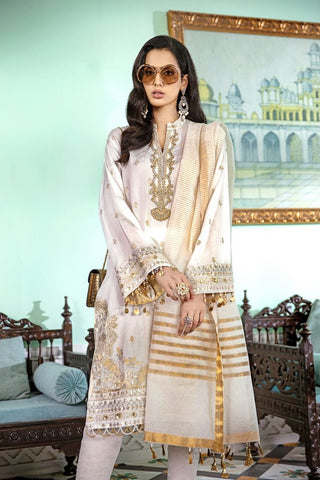 Gul Ahmed Stitched 3 Piece FE#346