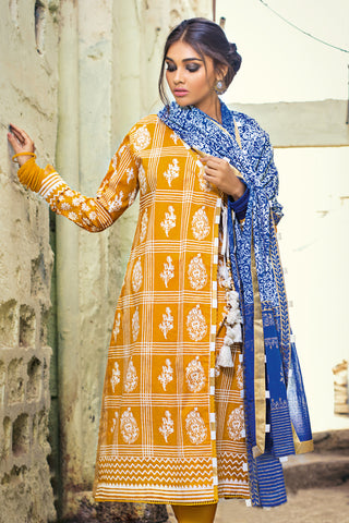 Gul Ahmed Lawn 2020 Stitched 3 Piece CL#746