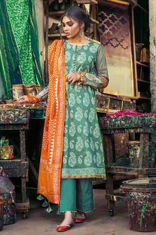 Gul Ahmed Lawn 2020 Stitched 3 Piece CL#748