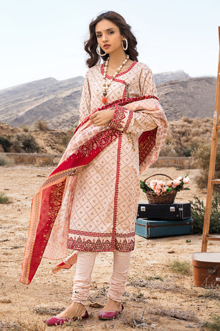 Gul Ahmed Lawn 2020 Stitched 3 Piece CL#855B