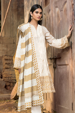 Gul Ahmed Lawn 2020 Stitched 3 Piece ARZ#03