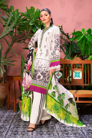 Gul Ahmed Lawn 2020 Stitched 3 Piece CL#809