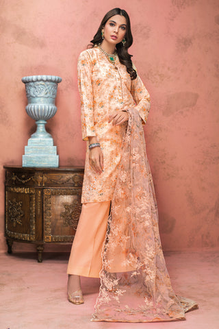 Gul Ahmed Lawn 2020 Stitched 3 Piece PM#336