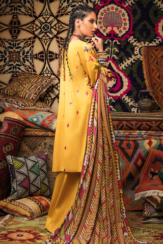 Stitched Linen 3 Piece Gul Ahmed V#17
