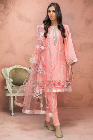 Gul Ahmed Lawn 2020 Stitched 3 Piece PM#340