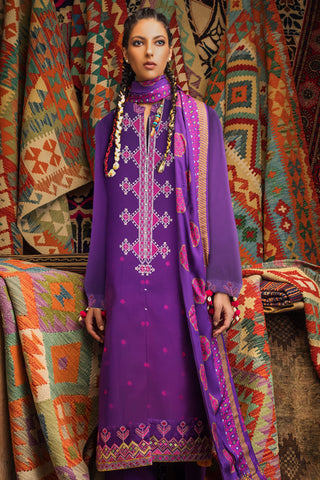 Stitched Linen 3 Piece Gul Ahmed V#16