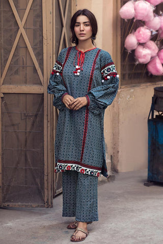 Gul Ahmed Winter Stitched 1pc SCD#08
