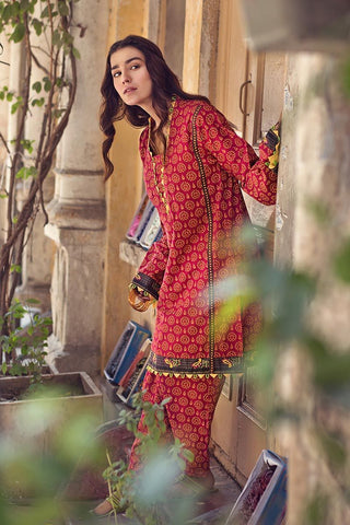 Gul Ahmed Winter Stitched 1pc SCD#10