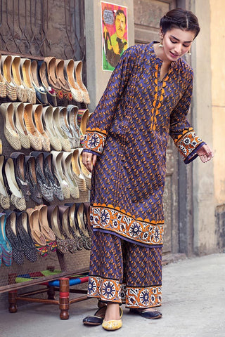 Gul Ahmed Winter Stitched 1pc SCD#09