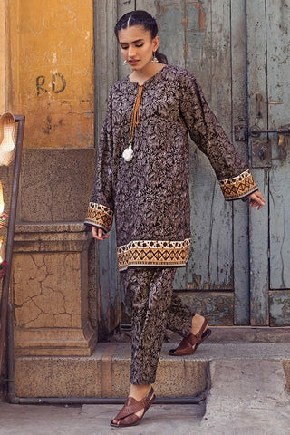 Gul Ahmed Winter Stitched 1pc SCD#11