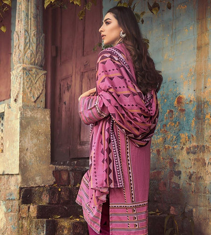 Gul Ahmed Winter Stitched 3pc CD#45