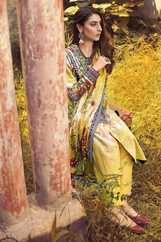 Gul Ahmed Winter Stitched 3pc CD#42