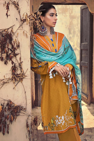 Gul Ahmed Winter Stitched 3pc CD#38