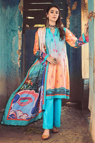 Gul Ahmed Winter Stitched 3pc CD#47