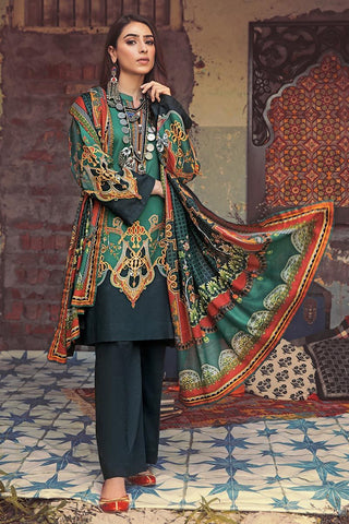 Gul Ahmed Winter Stitched 3pc CD#44