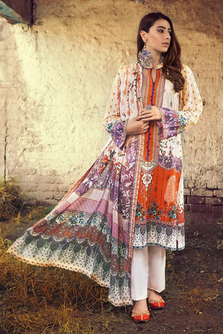Gul Ahmed Winter Stitched 3pc CD#46